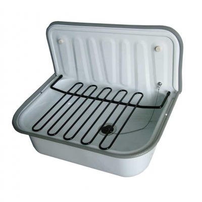 Steel enamel kitchen sink XD-2304